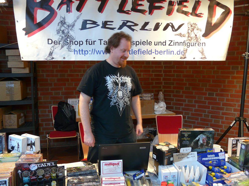 Händler auf der Hamburger Tactica 2014