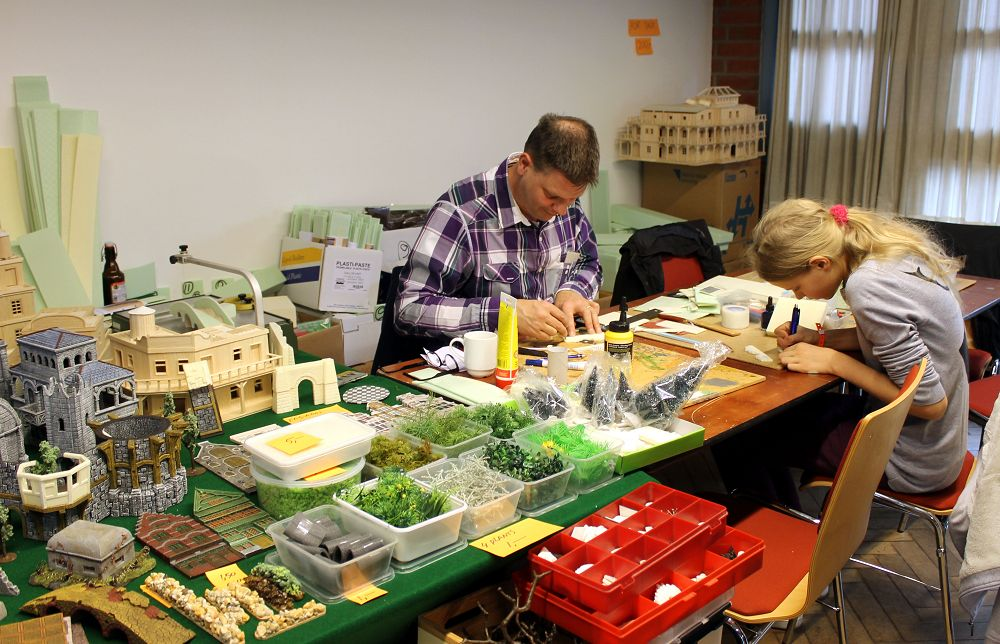 Workshops auf der Hamburger Tactica 2014