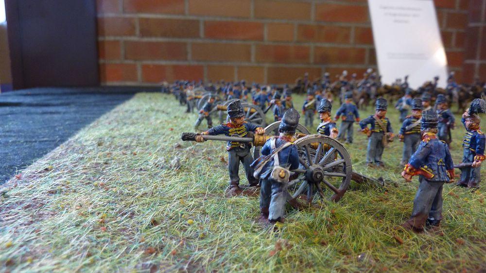 Diorama - Artilleriebatterie